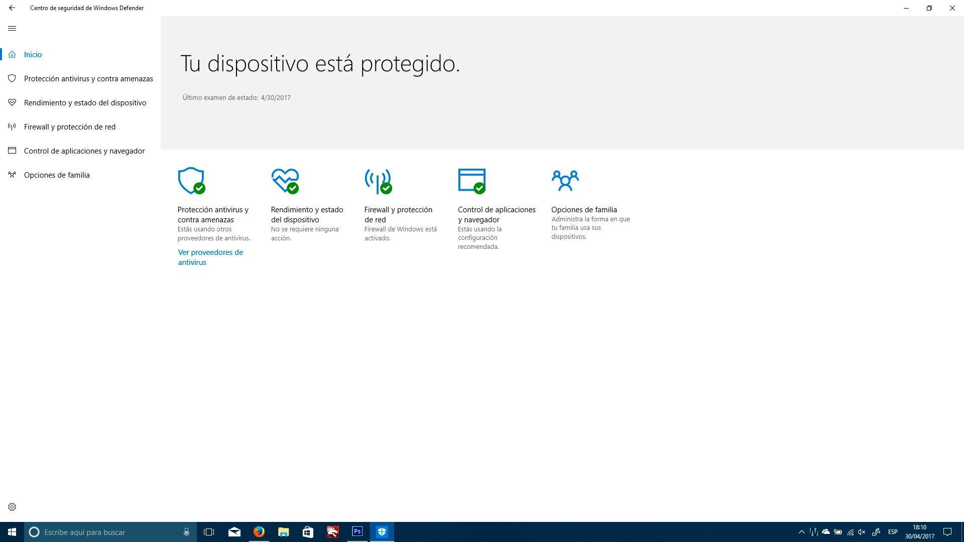 Todas las novedades de Seguridad, Redes, Memoria y Administración de Recursos en la Windows 10 Creators Update