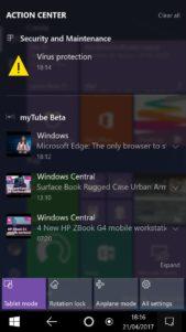 Windows Interfaz Adaptativa Moviles