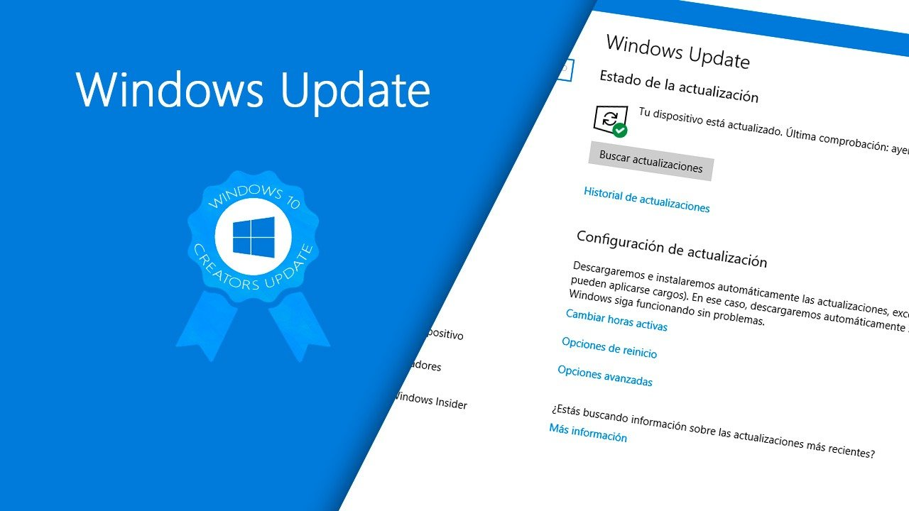 Windows Update en Windows 10 Creators Update