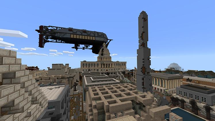 Fallout Mash-up aterriza ahora en Minecraft: Pocket Edition y Windows 10 Edition