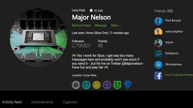 Finalmente ya están disponibles los gamerpics en el anillo Alpha de Xbox One Insider Preview