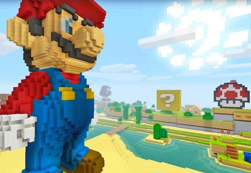 Minecraft sigue creciendo y llegará a Nintendo Switch en Mayo