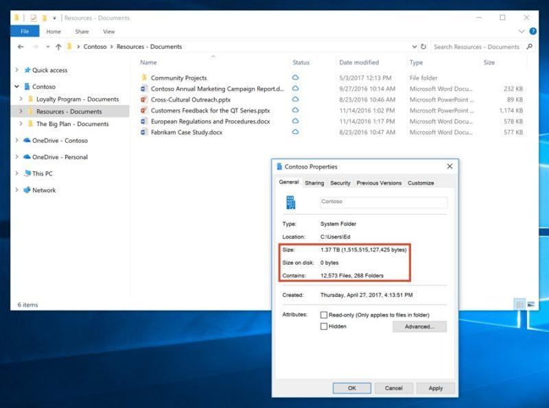 Microsoft anuncia los Archivos por Demanda y Carpetas Offline en OneDrive