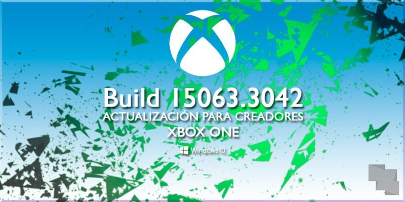 Xbox One Insider Preview recibe la Build 15063.3042 en el anillo Alpha
