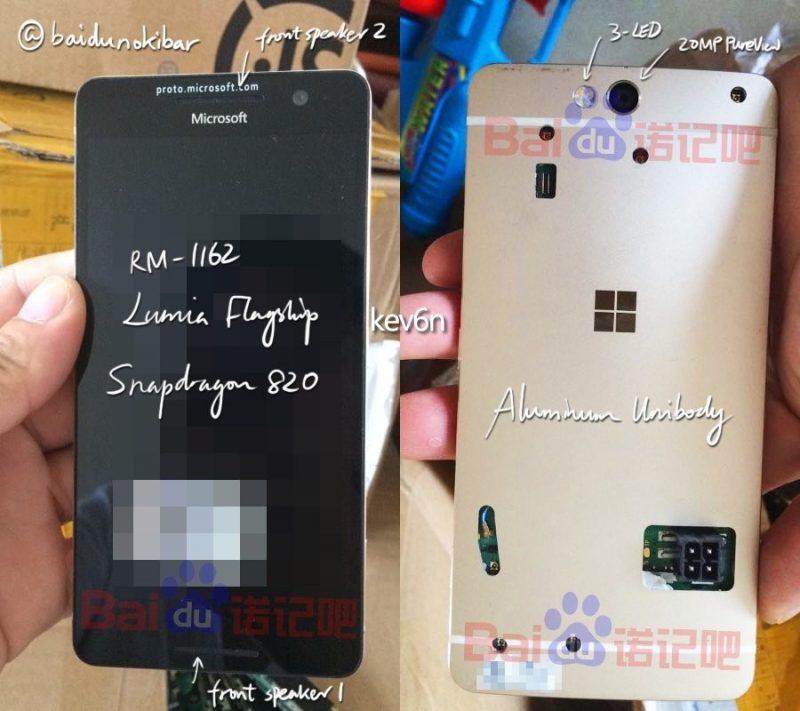 Aparecen fotos de un prototipo Lumia cancelado, posiblemente el Lumia 960 [Actualizado]