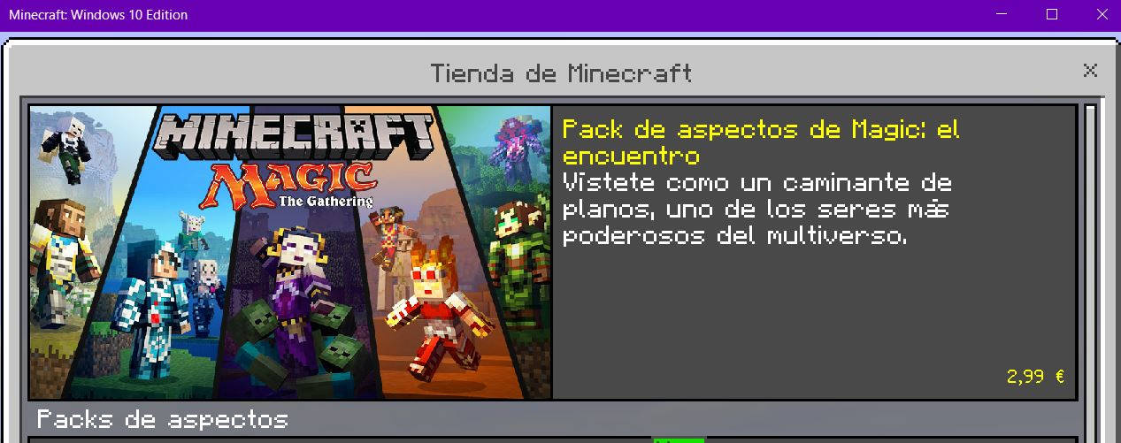 Minecraft Magic The Gathering