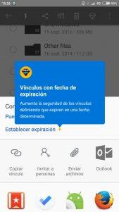 OneDrive ya admite la expiración de enlaces para archivos compartidos