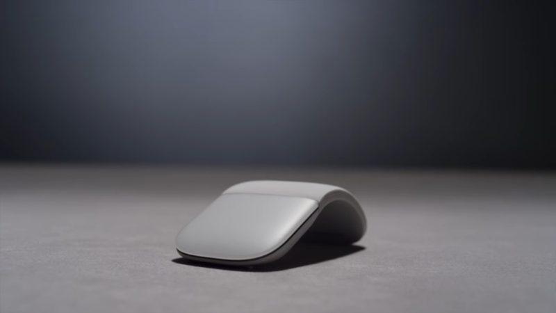 Microsoft, en silencio, presenta su Surface Arc Mouse