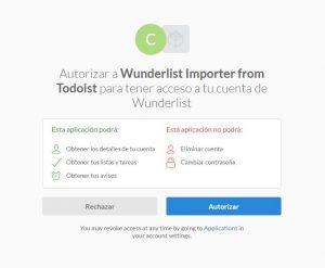 Importar tus listas de tareas de Wunderlist a Todoist ahora es más facil