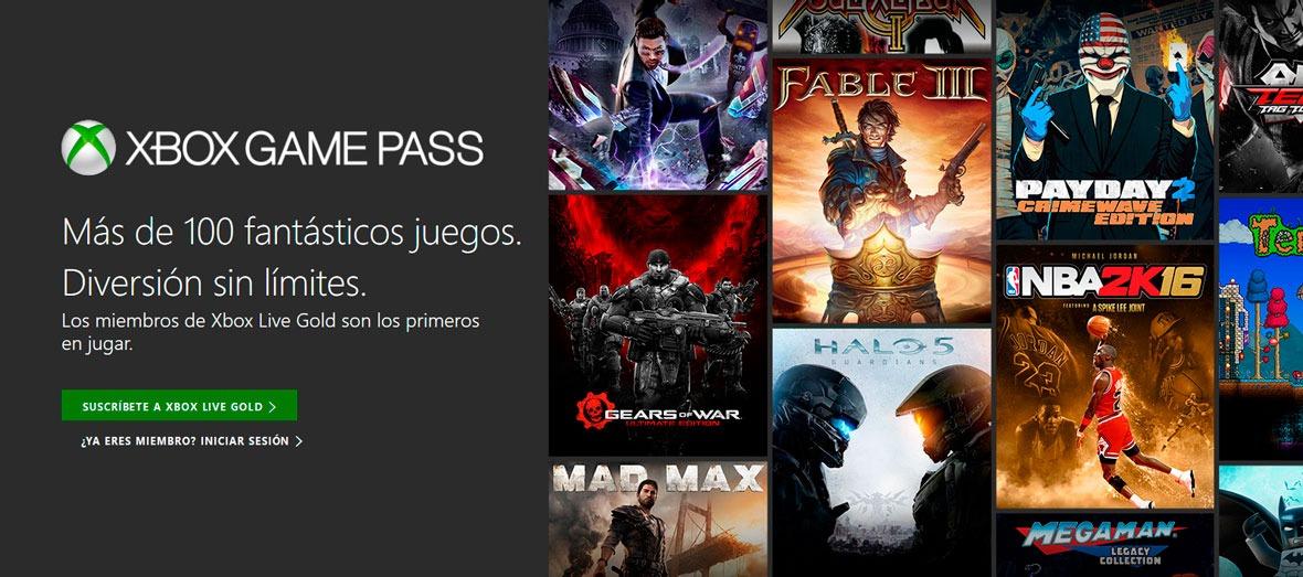 Xbox Game Pass llega a Xbox One el próximo 1 de junio