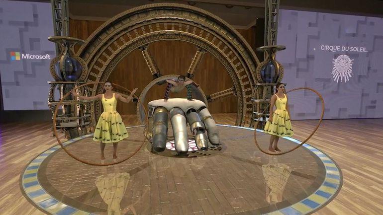 Cirque du Soleil adopta las HoloLens de Microsoft para una mejor productividad