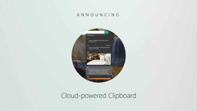cloud-Powered clipboard