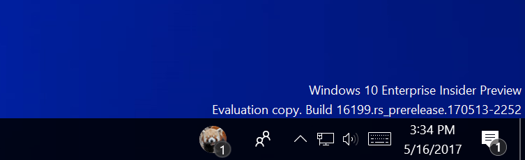 Disponible la Build 16199 para PC y Build 15215 para móviles en el anillo rápido