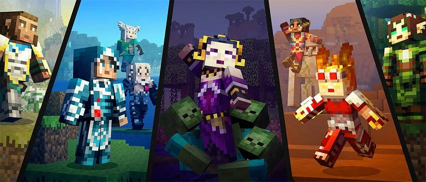 Minecraft Magic: The Gathering