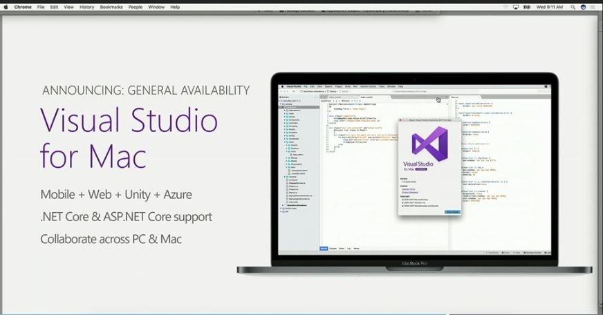 Visual Studio para Mac