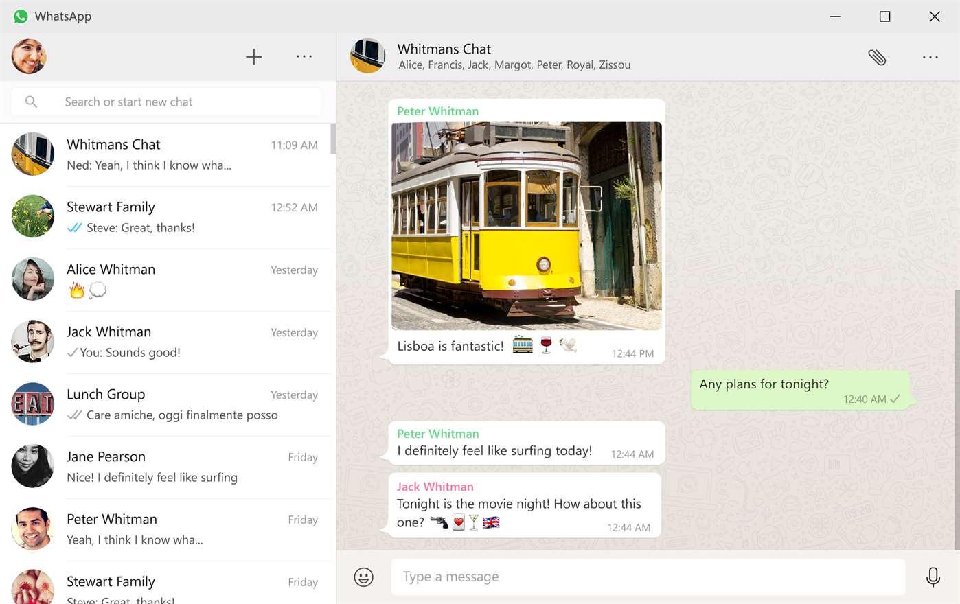 whatsapp escritorio windows 10