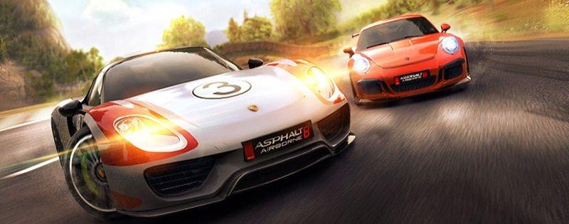 Asphalt 8 se actualiza en los dispositivos Windows y llega cargado de Porsche