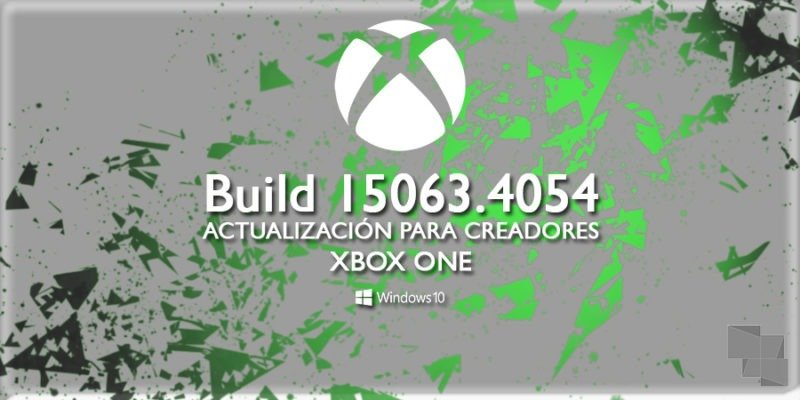 Build 15063.4054 de Xbox One Insider, ya disponible en el anillo alpha del programa [Actualizado: Y en el beta]
