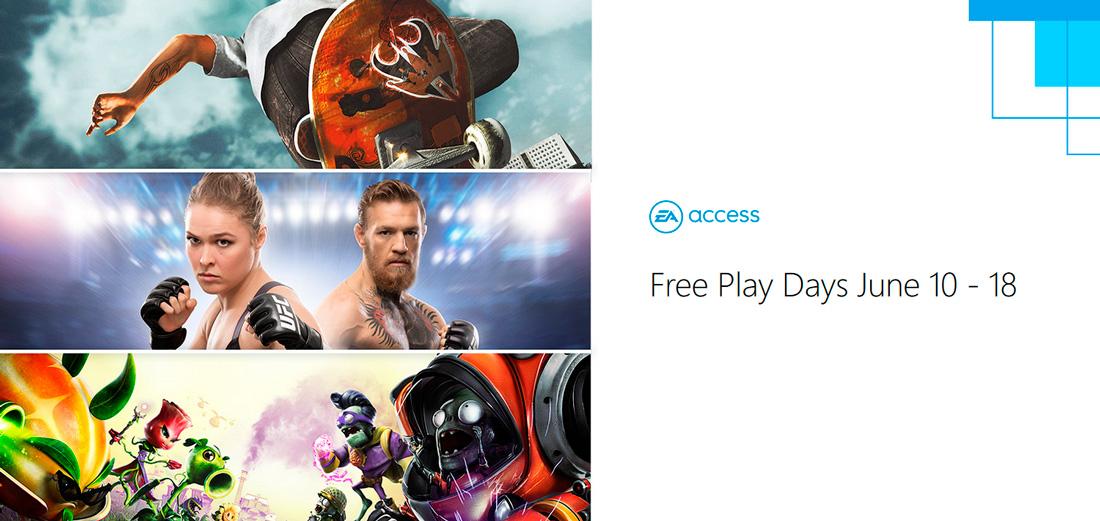 Disfruta gratis de todos los juegos de EA Access y Origin Access durante esta semana