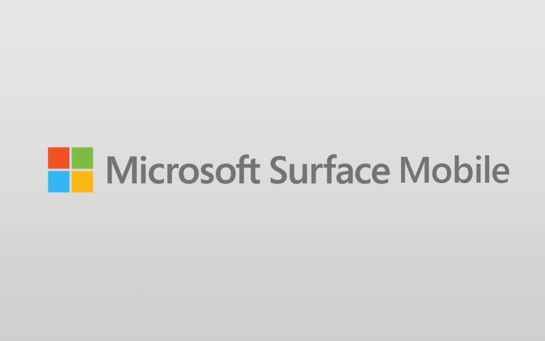 Microsoft Surface Mobile aparece en un canal oficial de Microsoft China