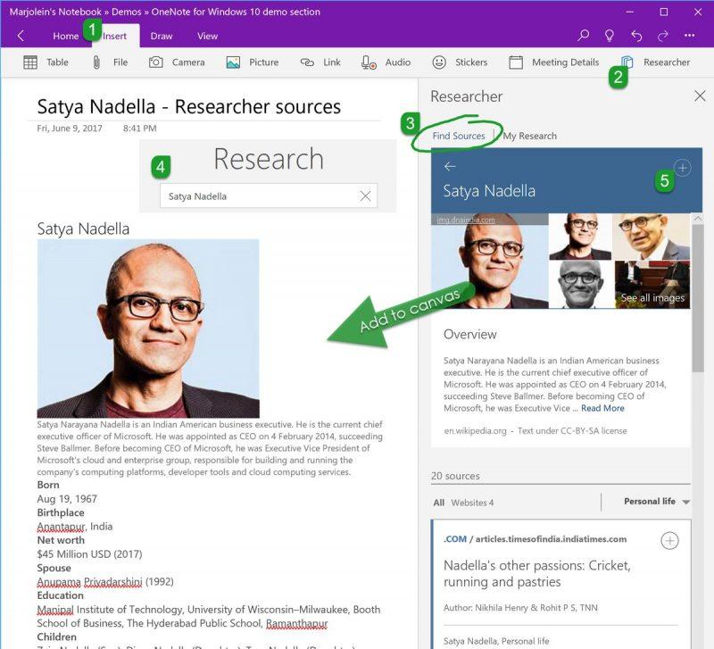 OneNote se actualiza en el anillo rápido de Windows Insider con nueva funcionalidad de búsqueda
