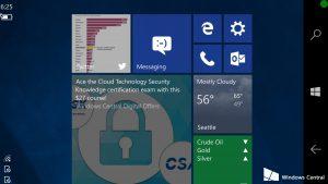 Mira la Interfaz Adaptativa de Windows 10 en acción
