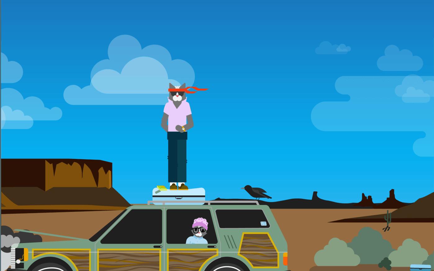 The Adventures of Ninja Cat