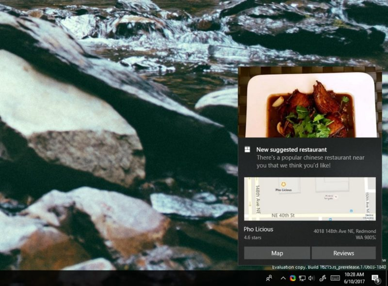 Las notificaciones interactivas multipasos llegarán con la Fall Creators Update de Windows 10