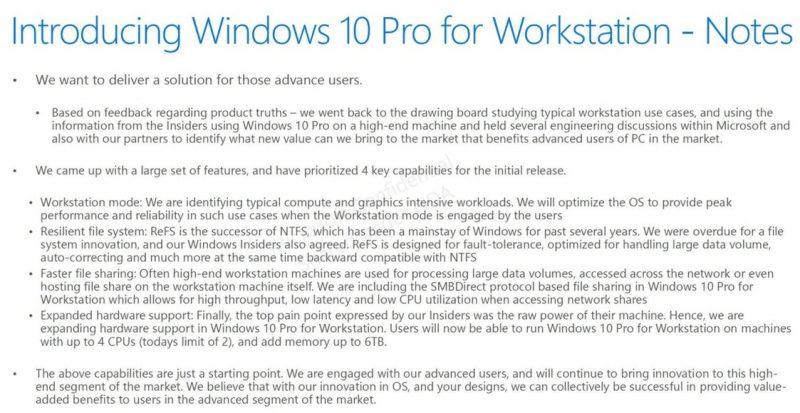 Microsoft estaría trabajando en nuevas ediciones de Windows 10 para dispositivos de alto rendimiento