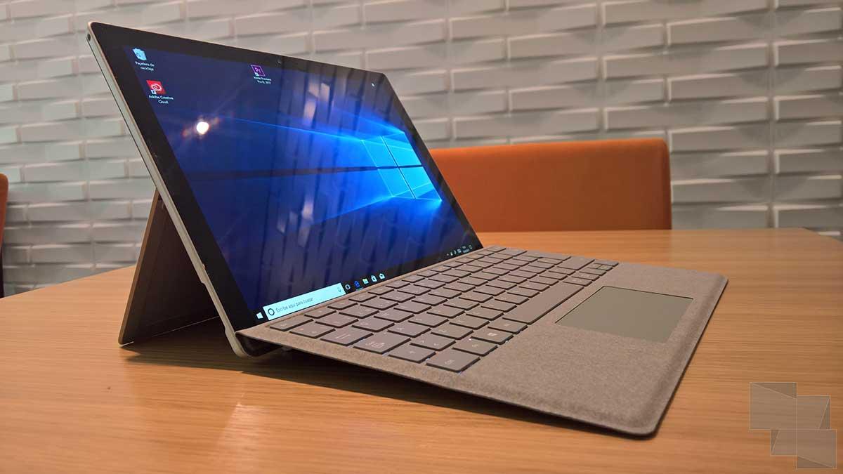 Surface Pro LTE (mismo boceto que el ejemplo estándar)