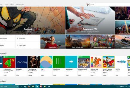 Tienda de Windows 10 con primeros detalles de Fluent Design