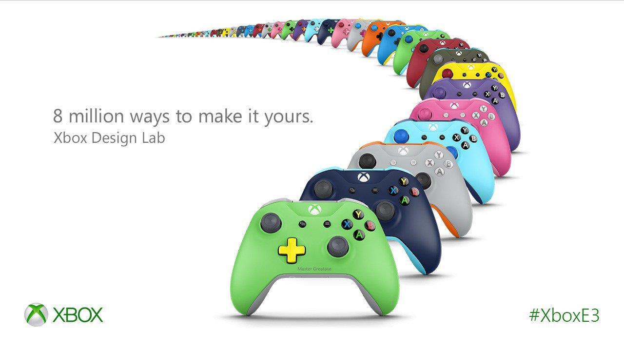 Xbox Design Lab confirma su llegada a España