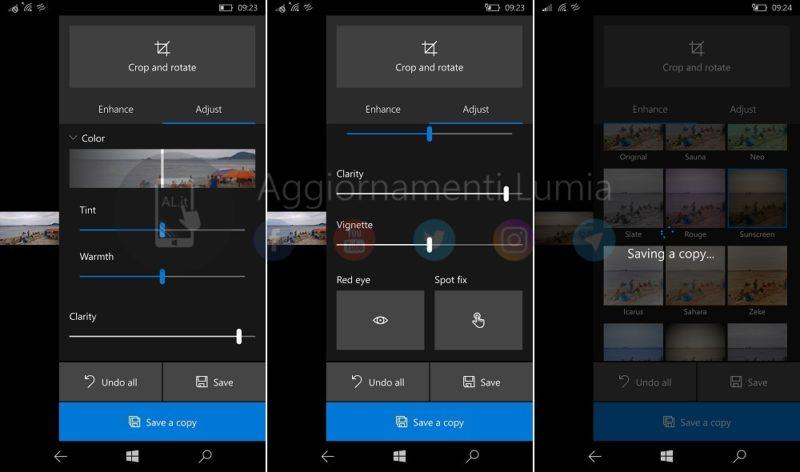 Estas son las novedades que vendrán para Fotos de Microsoft en Windows 10 Mobile