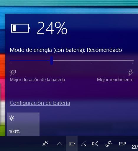 Surface Pro 4 recibe una nueva actualización añadiendo el slide de bateria