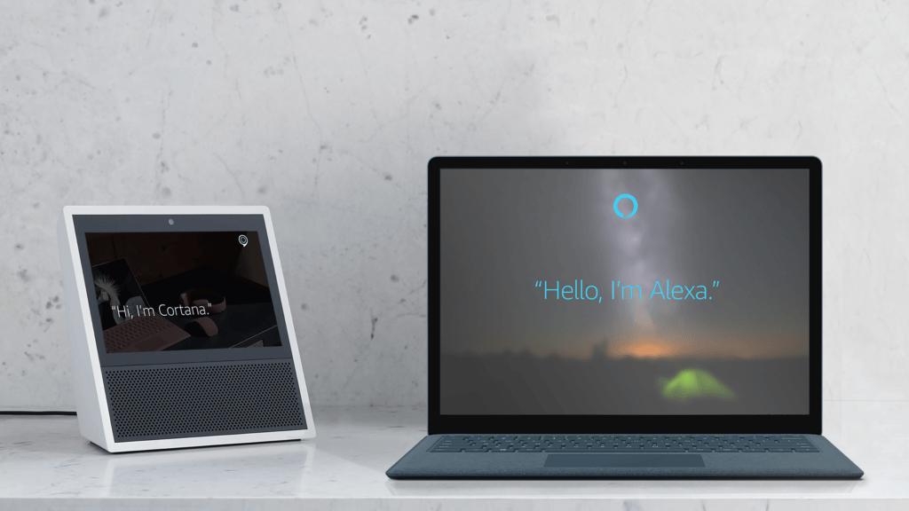 Cortana y Alexa