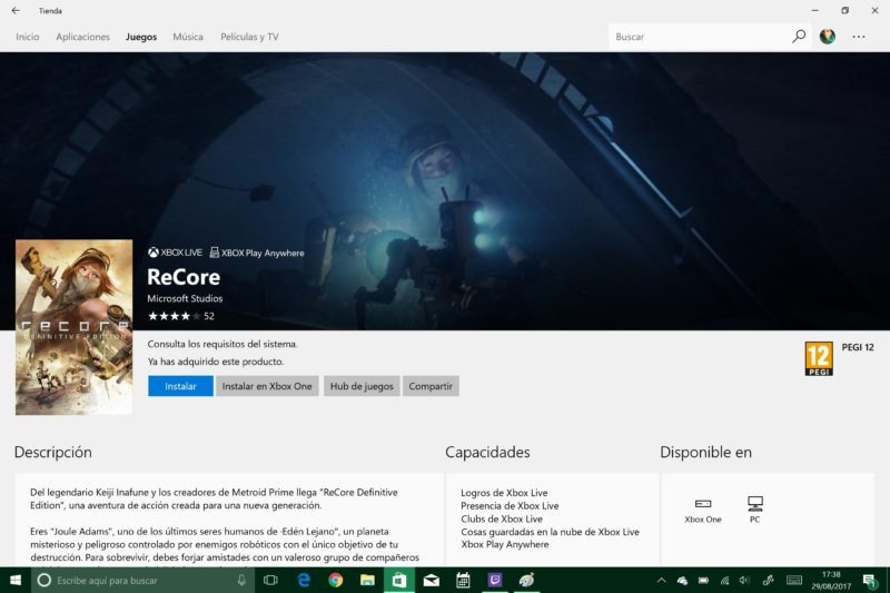 ReCore Definitive Edition ya disponible para Windows 10 PC y Xbox One