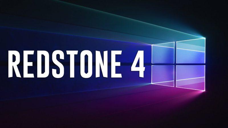 Microsoft inicia el desarrollo de Redstone 4 de Windows 10