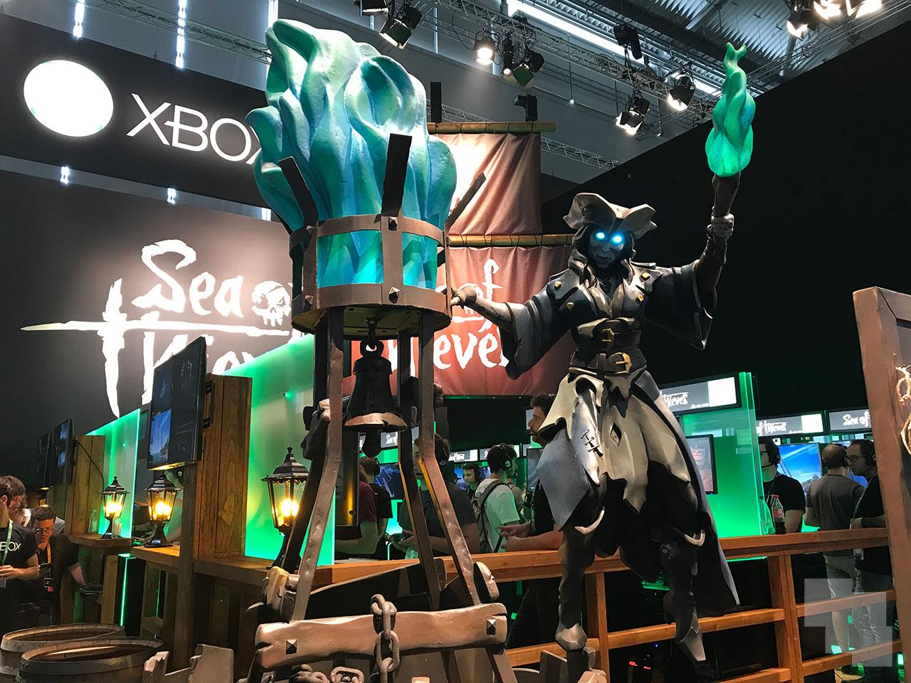 Sea of Thieves en gamescom 2017