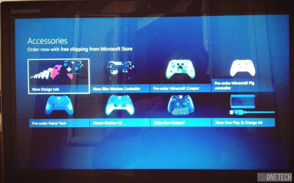 Ya puedes comprar accesorios desde tu Xbox One si eres Insider