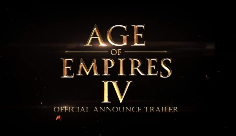 [Gamescom 2017] Age of Empires IV, el bombazo de Microsoft en el 20 aniversario