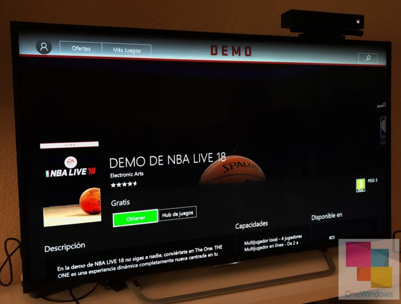 La demo de NBA LIVE 18 ya disponible para usuarios de Xbox Live Gold