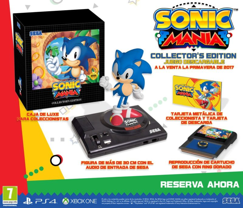 ¿Has visto la Sonic Mania Collectors Edition para Xbox One?