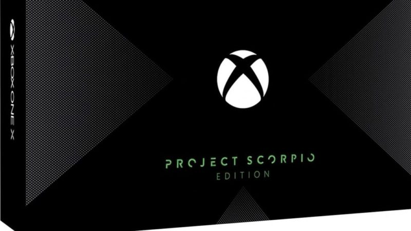 "Xbox One X tendrá una edición Day One llamada ""Project Scorpio"""