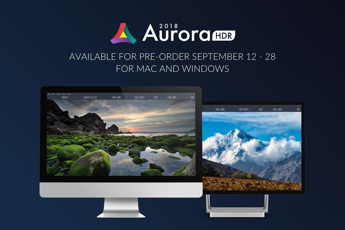 Aurora HDR 2018 precompra