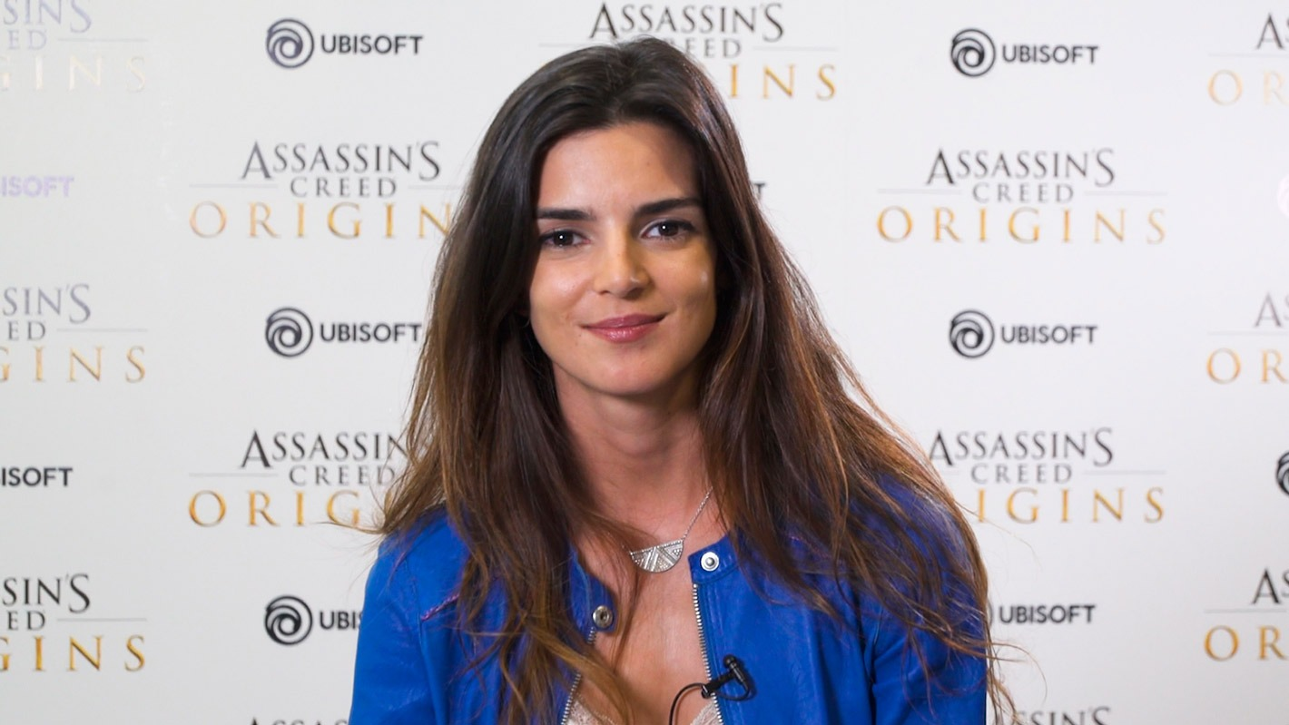Clara Lago en Assassin's Creed Origins
