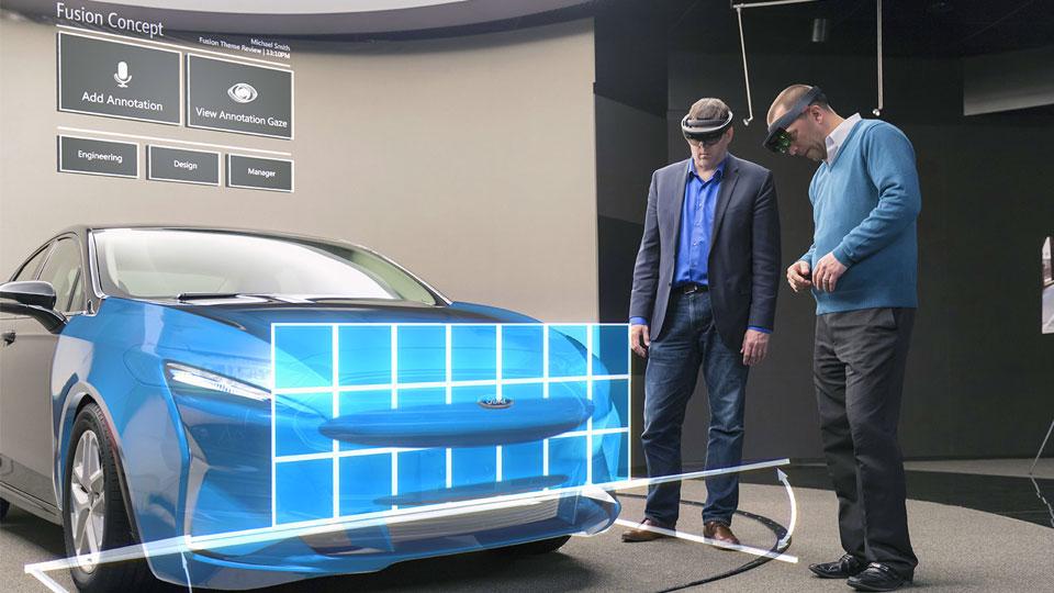 Ford usa las HoloLens de Microsoft para diseñar sus coches