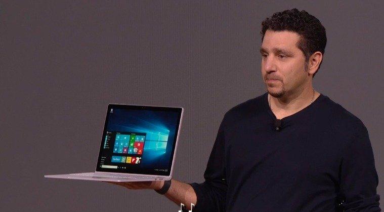Surface Book presentado por Panos Panay
