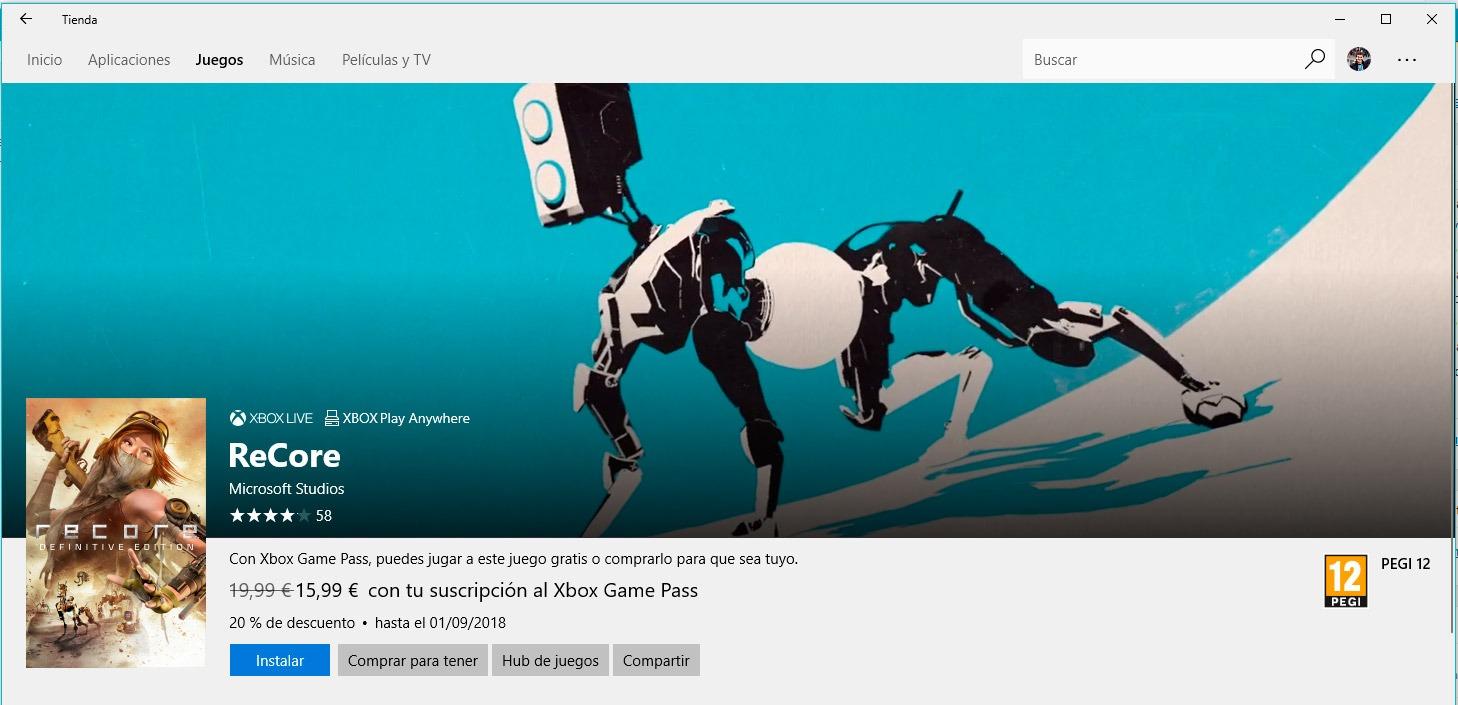 ReCore Definitive Edition gratis para Windows 10 con Xbox Game Pass