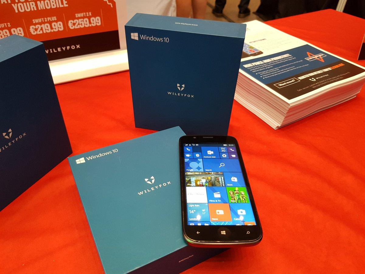 Según Wileyfox, Microsoft tiene una estrategia para móvil