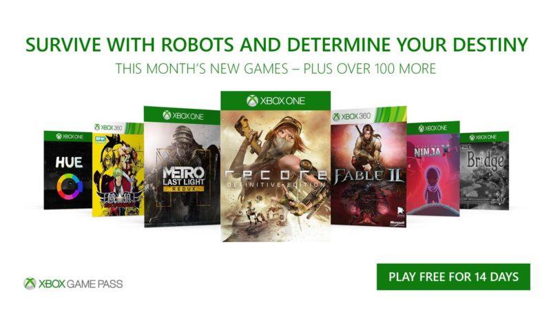Siete nuevos títulos llegan a Xbox Game Pass